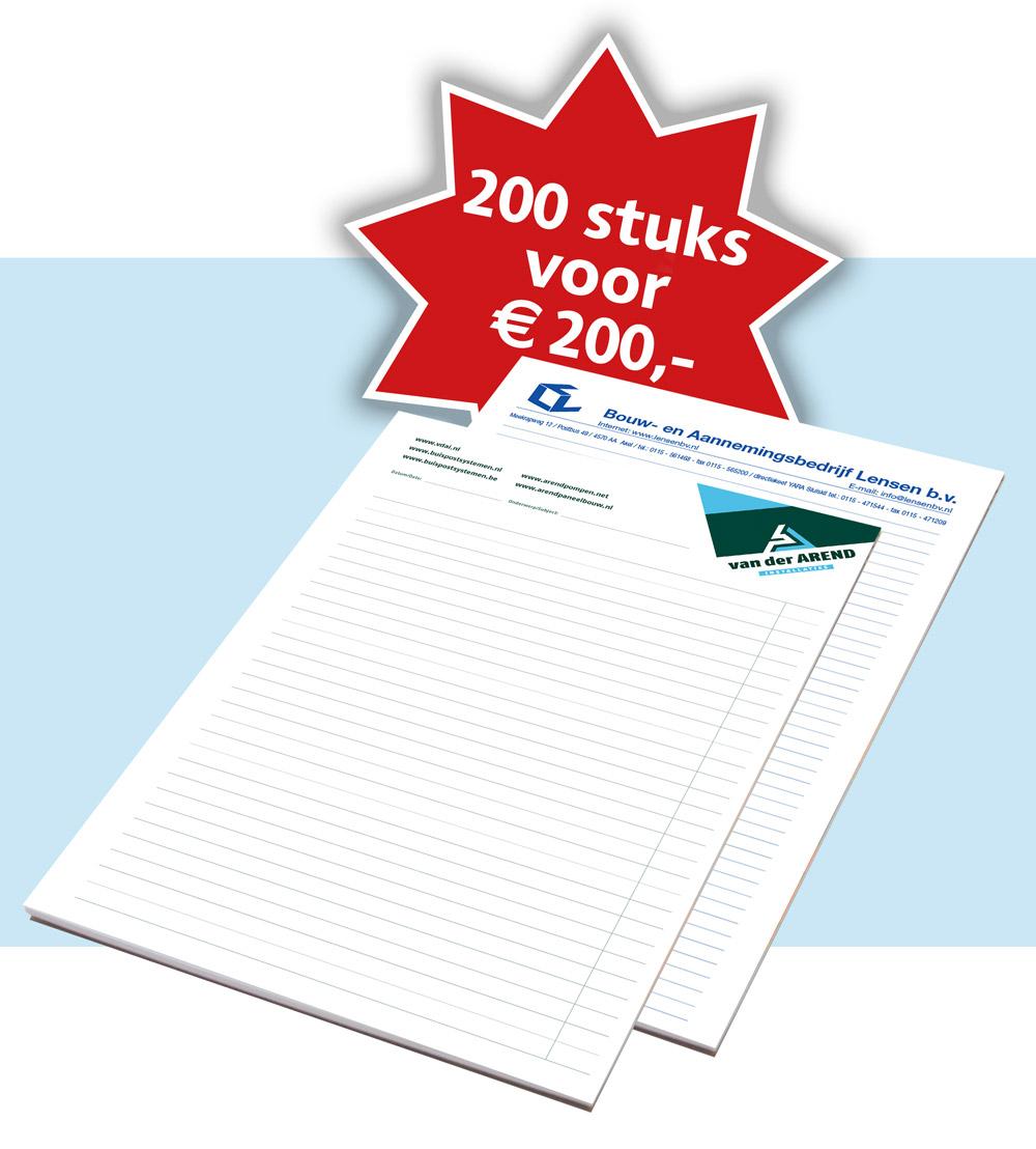 schrijfblokken_A4_vanaf_200_euro